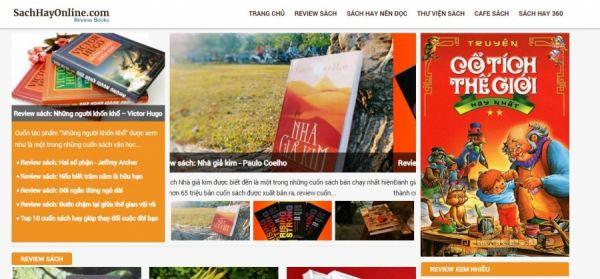 SachHayOnline.com - Top 10 trang web review sách uy tín hàng đầu tại Việt Nam