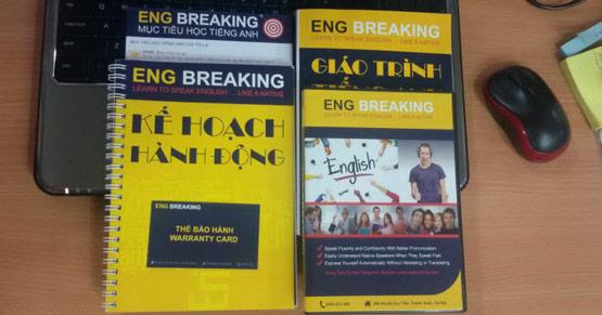 Nội dung có trong Eng breaking - Eng breaking gồm 12 bài học tương ứng với 12 chủ đề xoay quanh cuộc sống