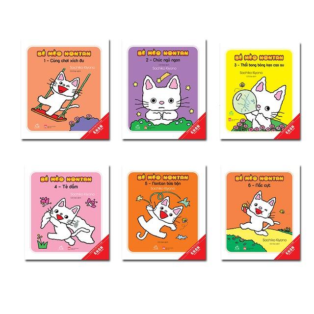 Sách Ehon Nhật Bản Sách bé mèo nontan - Top những cuốn sách Ehon được yêu thích nhất năm 2019