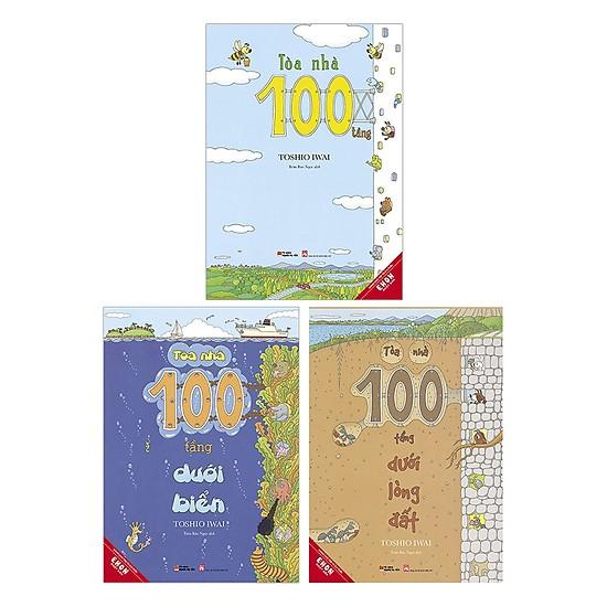 Sách Ehon Nhật Bản Toà nhà một trăm tầng - Top những cuốn sách Ehon được yêu thích nhất năm 2019